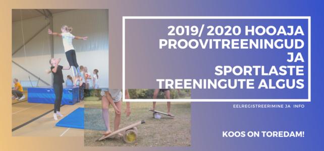 2019/2020 hooaja info